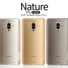 Husa HUAWEI Mate 9 Pro TPU Nature by Nillkin Transparenta - Husa Telefon Huawei, Gel TPU, Fara snur, Carcasa