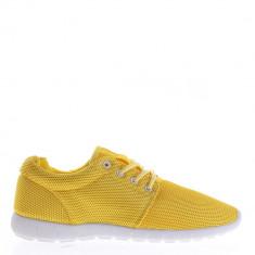 Pantofi sport dama Colette galbeni - Adidasi dama