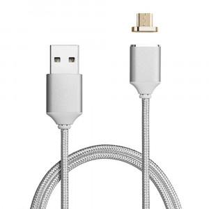 Cablu magnetic cu mufa micro USB pentru telefoane / tablete