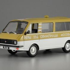 Macheta RAF-2203 Olympiada 1980  Masini de Legenda Rusia 1:43