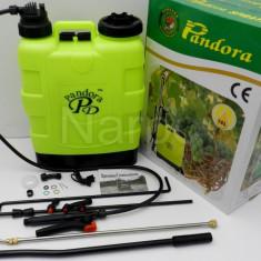 Pompa de stropit manuala Pandora 16L - Pulverizator, De spate, 11-20, 1.1-3