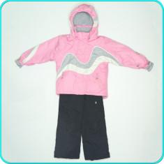 Costum de ski / iarna, cu salopeta, impermeabil MARC GIRARDELLI _ 5-6 ani | 116 - Echipament ski, Copii