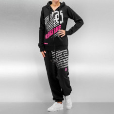 Trening hip hop femei Bandana DNGRS Negru/Roz - Trening dama, Marime: XS, S, M, L, XL, Culoare: Din imagine