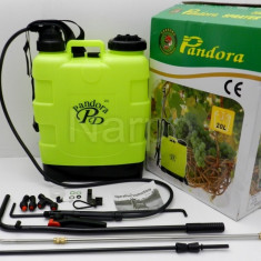 Pompa de stropit manuala Pandora 20L - Pulverizator, De spate, 11-20, 1.1-3