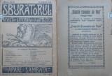 Sburatorul ; Revista literara si artistica ; Eugen Lovinescu , nr. 37 , 1920