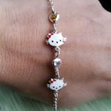 Bratara argint 925 Hello Kitty pentru copii, Femei