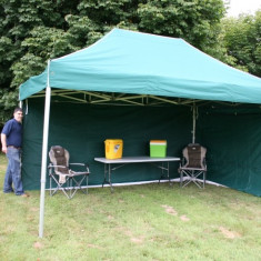 3x4.5m Cort pliabil piata ibiza pavilion cu sau  fara pereti laterali  NOU