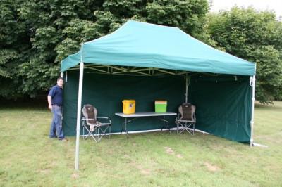 3x4.5m Cort pliabil piata ibiza pavilion cu sau  fara pereti laterali  NOU foto
