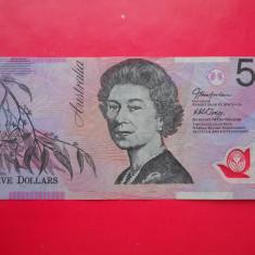 HOPCT AUSTRALIA 5 DOLLARS 1995-2001 POLIMER