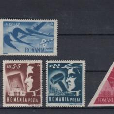 ROMANIA 1948 LP 230  UTM  SERIE  MNH