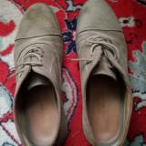 Pantofi Zara Man, Piele intoarsa.