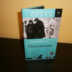 Mozart-Don Giovanni, opera fabuloasa, carte,cd si dvd, raritate!, Alte tipuri suport muzica