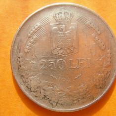 250 LEI 1941 - Moneda Romania, Argint