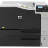 Imprimanta HP LaserJet Enterprise M750DN, 30 PPM, Duplex, Retea, USB, 600 x 600, Laser, Color, A4 - Imprimanta laser color