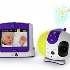 Videofon digital bidirectional cu infrarosu si joc de lumini BT 7500, ID355 - Baby monitor