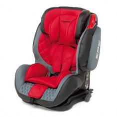 Scaun auto copii 9-36 kg Foppapedretti Isodinamyk Isofix, Rosu, ID230, 1-2-3 (9-36 kg)