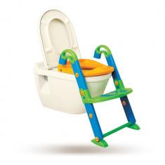 Olita Kids Kit 3in1 cu reductor pentru toaleta si scarita Kids Seat Toilet Trainer, ID307