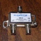 Splitter 2 iesiri 5 -1000 mhz firma Flomatik