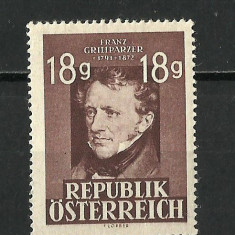 AUSTRIA--1947 MNH, Nestampilat