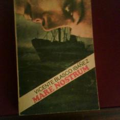 Vicente Blasco Ibanez Mare nostrum