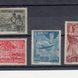 ROMANIA 1948, LP 233, 1 MAI ZIUA MUNCII SERIE MNH - Timbre Romania, Nestampilat