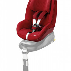 Scaun auto Maxi-Cosi Pearl si baza auto IsoFix FamilyFix, model Robin Red tip fotoliu, 9-18 kg, rosu, ID211 - Scaun auto copii Graco