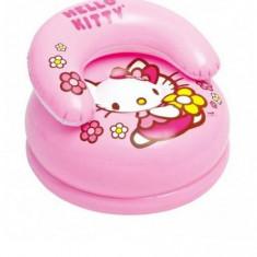 Fotoliul Gonflabil Hello Kitty pentru Copii