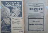 Sburatorul ; Revista literara si artistica ; Eugen Lovinescu , nr. 10 , 1920