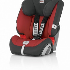 Scaun auto copii Britax-Romer Evolva, grupa 1-2-3 plus, model Chilli Pepper, rosu, ID231
