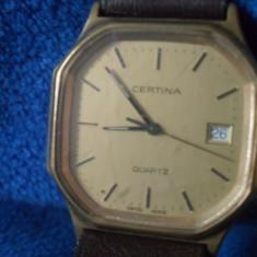Certina Swiss Made Quartz - Ceas barbatesc