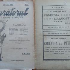 Sburatorul ; Revista literara si artistica ; Eugen Lovinescu , nr. 7 , 1920