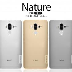 Husa HUAWEI Mate 9 TPU Nature by Nillkin Transparenta - Husa Telefon Huawei, Gel TPU, Fara snur, Carcasa