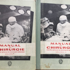 MANUAL DE CHIRURGIE PENTRU SCOLILE DE ASISTENTE MEDICALE - Carte Chirurgie