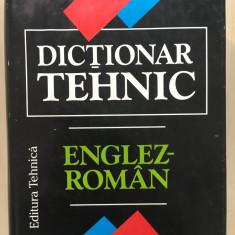 DICTIONAR TEHNIC ENGLEZ-ROMAN 1997