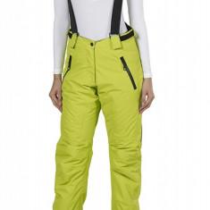 Pantaloni ski, snowboard pentru femei, marime 40, cu bretele detasabile, Fifty Five, verde, ID435 - Echipament ski