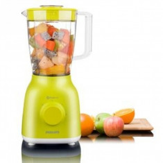 Blender Philips Daily Collection HR2100/40, putere 400 W, capacitate 1.25 l
