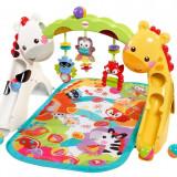 Covor de joaca copii 0-3 ani Fisher-Price Newborn-to-Toddler, ID280 - Jucarie interactiva