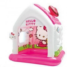 Casuta gonflabila Hello Kitty pentru copii