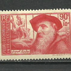 FRANTA --1937 MH, Nestampilat