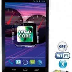 Telefon mobil Evolio Happy, Negru, 4GB, Neblocat, Quad core, 1 GB