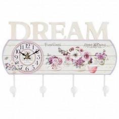Cuier Dream cu ceas