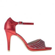 Sandale dama Tasha rosii