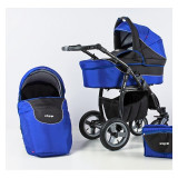 Carucior bebe Zipp 2 in 1 - Carucior copii 3 in 1 Adbor, Albastru