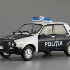 Macheta Dacia 1310 - Politia Masini de Legenda Rusia 1:43 - Macheta auto
