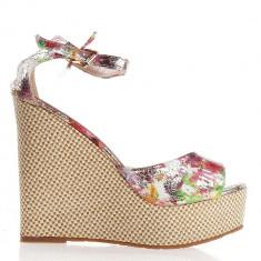 Sandale dama Herna rosii