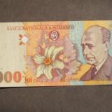 5000 LEI 1998 / BNR MARE - Bancnota romaneasca