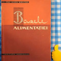 Bazele alimentatiei Iancu Gontea