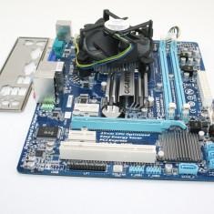 Kit DDR3 775 GIGABYTE GA-G41MT-S2 + Dual Core E5700 3.0GHz + cooler, garantie! - Placa de Baza Gigabyte, Pentru INTEL, LGA775, Contine procesor, MicroATX