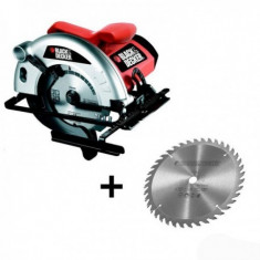 Ferastrau circular Black&Decker CD601A, 1100W, 5000 rpm - Fierastrau circular