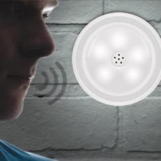 Reflector LED cu senzor vocal